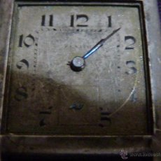 Relojes - Zenith: RELOJ ZENITH DE PULSERA CARGA MANUAL AÑOS 40 CON LA CAJA DE PLATA,PARA RESTAURAR,26X28MM. Lote 47810594