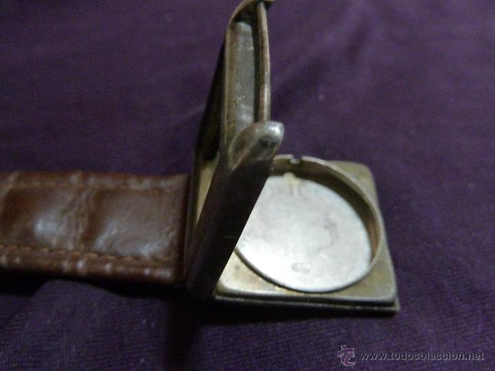 Relojes - Zenith: Reloj ZENITH de pulsera carga manual años 40 con la caja de plata,para restaurar,26x28mm - Foto 5 - 47810594