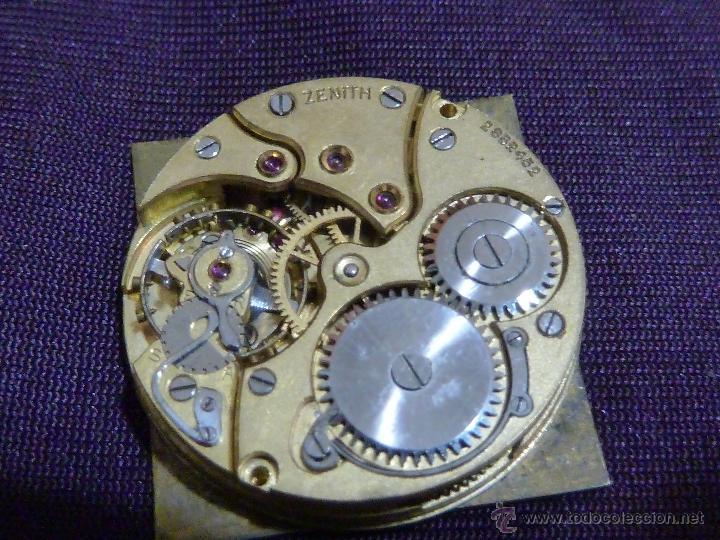 Relojes - Zenith: Reloj ZENITH de pulsera carga manual años 40 con la caja de plata,para restaurar,26x28mm - Foto 6 - 47810594