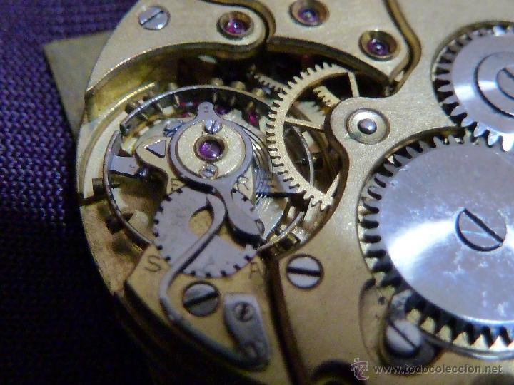 Relojes - Zenith: Reloj ZENITH de pulsera carga manual años 40 con la caja de plata,para restaurar,26x28mm - Foto 8 - 47810594