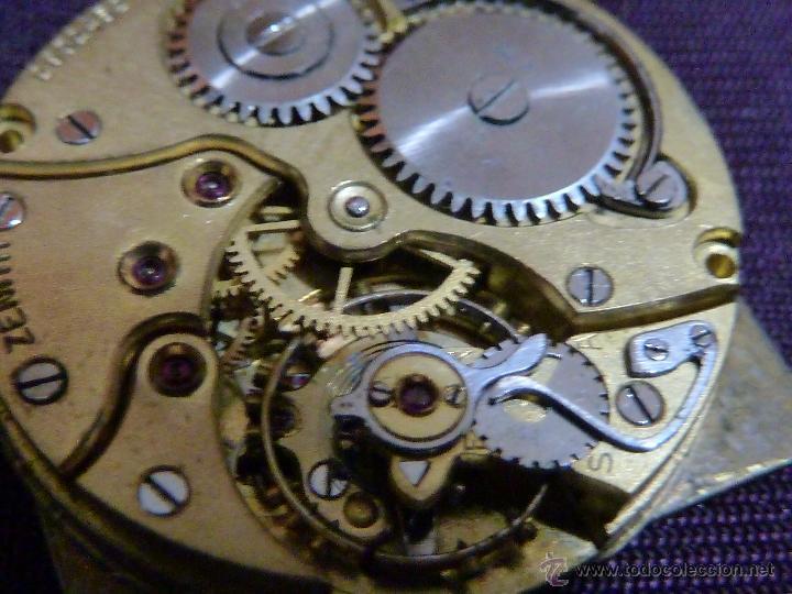 Relojes - Zenith: Reloj ZENITH de pulsera carga manual años 40 con la caja de plata,para restaurar,26x28mm - Foto 9 - 47810594