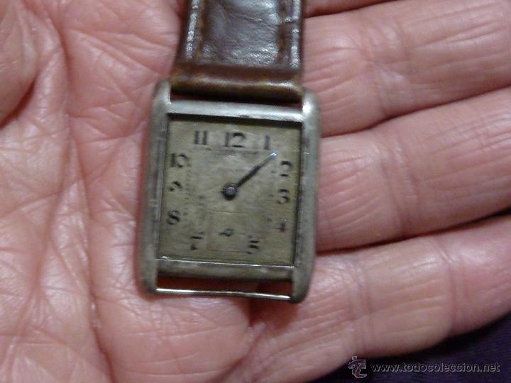 Relojes - Zenith: Reloj ZENITH de pulsera carga manual años 40 con la caja de plata,para restaurar,26x28mm - Foto 10 - 47810594