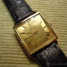 Relojes - Zenith: RELOJ PULSERA ORO 18 K, ZENITH DE LUXE, 1965, AUTOMATICO CON FECHA , IMPECABLE. Lote 53344400