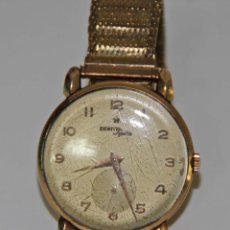 Relojes - Zenith: RE314 ZENITH SPORTS. CAJA EN ORO DE 18 KT. ESFERA METÁLICA. FUNCIONA. SUIZA. AÑOS 40. Lote 53016384