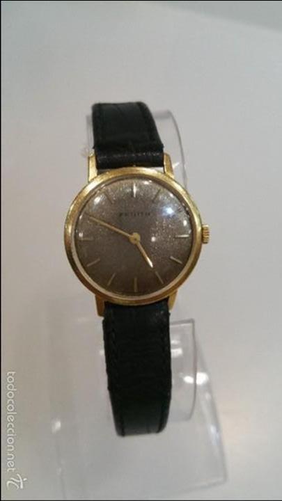 RELOJ ZENITH DE CUERDA SEÑORA DE ORO SOLIDO 18K (Relojes - Relojes Actuales - Zenith)