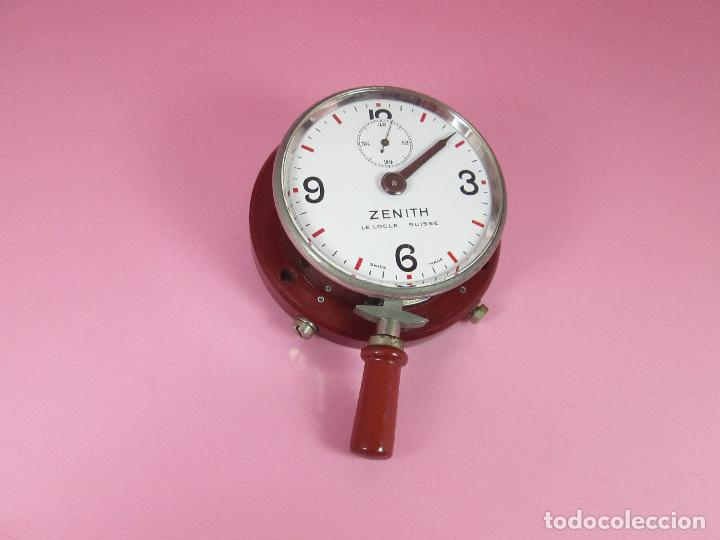 Relojes - Zenith: ANTIGUO CRONÓMETRO-SUIZA-ZENITH-LE LOCLE SUISSE-EXCELENTE ESTADO-FUNCIONANDO-RARO/ ESCASO-VER FOTOS - Foto 2 - 66442494