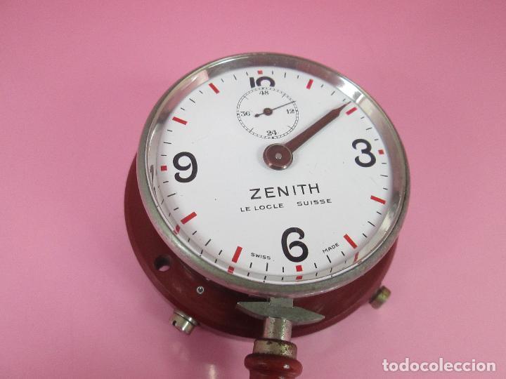 Relojes - Zenith: ANTIGUO CRONÓMETRO-SUIZA-ZENITH-LE LOCLE SUISSE-EXCELENTE ESTADO-FUNCIONANDO-RARO/ ESCASO-VER FOTOS - Foto 3 - 66442494