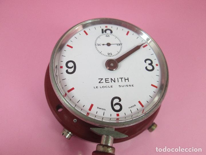Relojes - Zenith: ANTIGUO CRONÓMETRO-SUIZA-ZENITH-LE LOCLE SUISSE-EXCELENTE ESTADO-FUNCIONANDO-RARO/ ESCASO-VER FOTOS - Foto 4 - 66442494