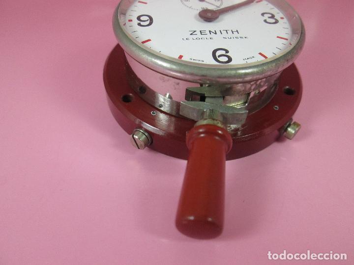 Relojes - Zenith: ANTIGUO CRONÓMETRO-SUIZA-ZENITH-LE LOCLE SUISSE-EXCELENTE ESTADO-FUNCIONANDO-RARO/ ESCASO-VER FOTOS - Foto 5 - 66442494