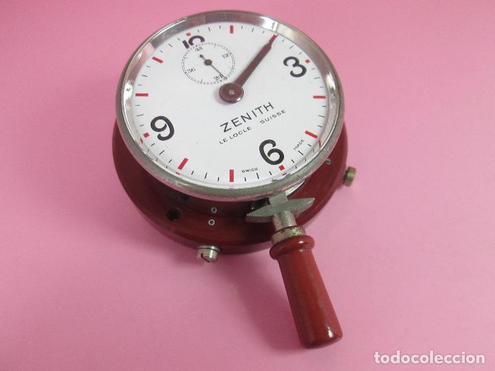 Relojes - Zenith: ANTIGUO CRONÓMETRO-SUIZA-ZENITH-LE LOCLE SUISSE-EXCELENTE ESTADO-FUNCIONANDO-RARO/ ESCASO-VER FOTOS - Foto 6 - 66442494