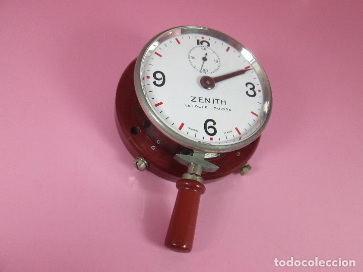 Relojes - Zenith: ANTIGUO CRONÓMETRO-SUIZA-ZENITH-LE LOCLE SUISSE-EXCELENTE ESTADO-FUNCIONANDO-RARO/ ESCASO-VER FOTOS - Foto 7 - 66442494