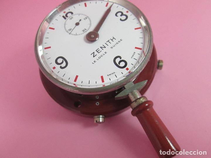 Relojes - Zenith: ANTIGUO CRONÓMETRO-SUIZA-ZENITH-LE LOCLE SUISSE-EXCELENTE ESTADO-FUNCIONANDO-RARO/ ESCASO-VER FOTOS - Foto 8 - 66442494