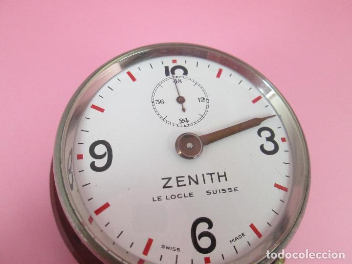 Relojes - Zenith: ANTIGUO CRONÓMETRO-SUIZA-ZENITH-LE LOCLE SUISSE-EXCELENTE ESTADO-FUNCIONANDO-RARO/ ESCASO-VER FOTOS - Foto 10 - 66442494
