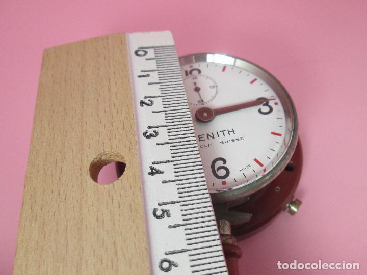 Relojes - Zenith: ANTIGUO CRONÓMETRO-SUIZA-ZENITH-LE LOCLE SUISSE-EXCELENTE ESTADO-FUNCIONANDO-RARO/ ESCASO-VER FOTOS - Foto 14 - 66442494