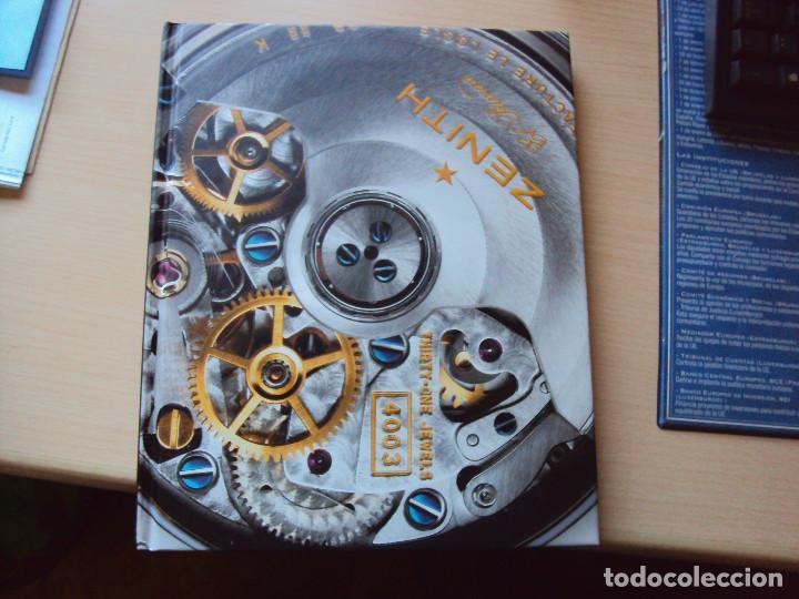 Relojes - Zenith: 3 LIBROS TIPO CATALOGO ZENITH - Foto 2 - 85824284