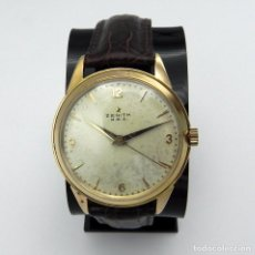 Relojes - Zenith: ANTIGUO RELOJ DE HOMBRE ZENITH M.R.A GOLD SOLID MANUAL 18 JEWELS COLLECTION . Lote 95763731