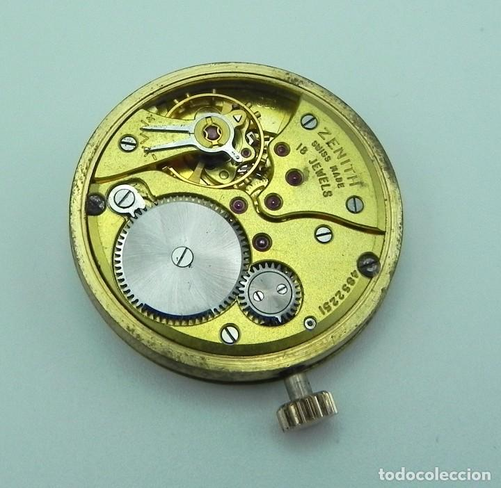 Relojes - Zenith: Antiguo reloj de Hombre Zenith M.R.A Gold solid Manual 18 jewels Collection - Foto 5 - 95763731