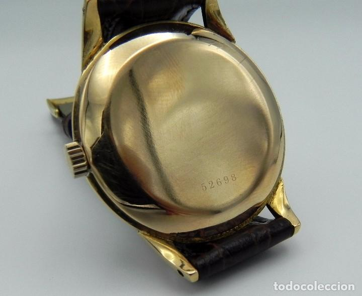 Relojes - Zenith: Antiguo reloj de Hombre Zenith M.R.A Gold solid Manual 18 jewels Collection - Foto 8 - 95763731
