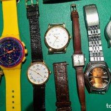 Relojes - Zenith: 8 RELOJES DIFERENTES MARCAS ZENITH, PERTEGAZ, CITIZEN, VINTAGE. Lote 99185743