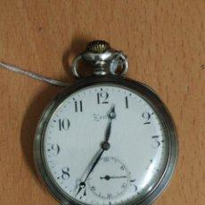 Relojes - Zenith: RELOJ DE BOLSILLO ANTIGUO DE PLATA 800. MARCA ZENITH.. Lote 116754179