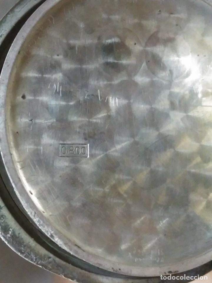 Relojes - Zenith: RELOJ DE BOLSILLO ANTIGUO DE PLATA 800. MARCA ZENITH. - Foto 7 - 116754179