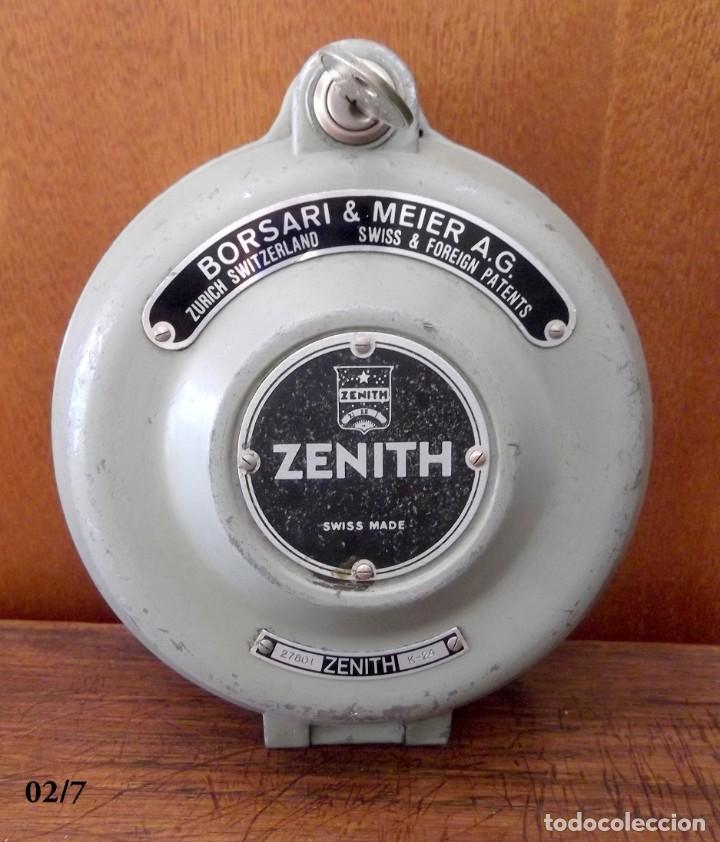 ANTIGUO RELOJ DE VIGILANTE - SERENO (Relojes - Relojes Actuales - Zenith)