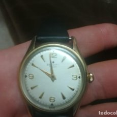 Relógios - Zenith: BONITO RELOJ ZENITH PILOT CHAPADO EN ORO DE 80MICRAS MEDIDA CON CORONA 36MM FUNCIONANDO MIREN FOTOS. Lote 127889843