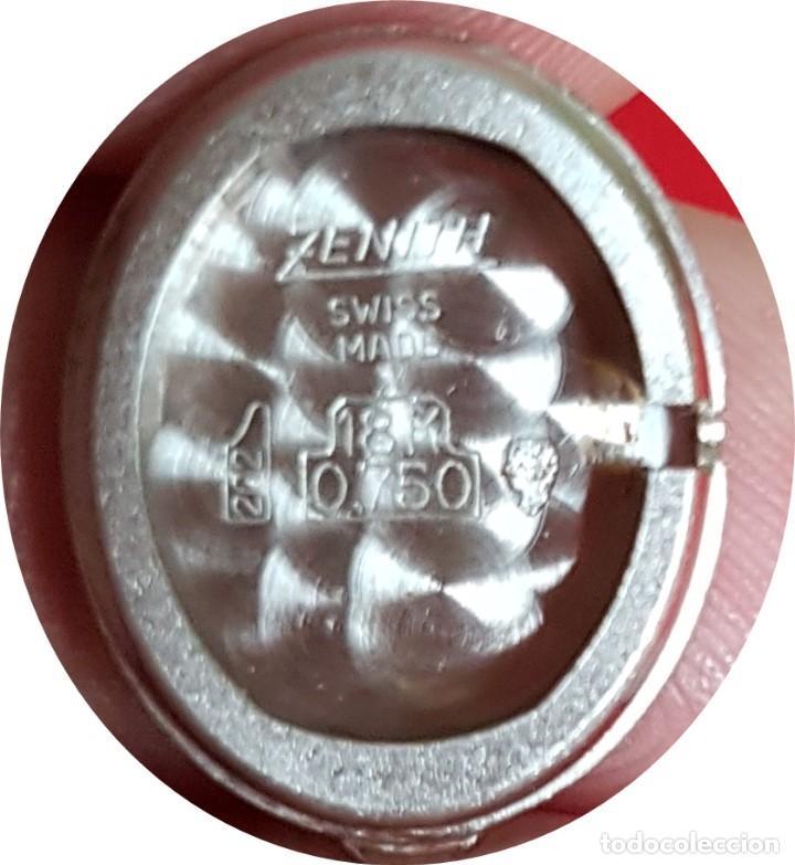 Relojes - Zenith: Antiguo reloj de pulsera para mujer, Zenith, oro y brillantes, joya de los años 50 - Foto 11 - 132570982