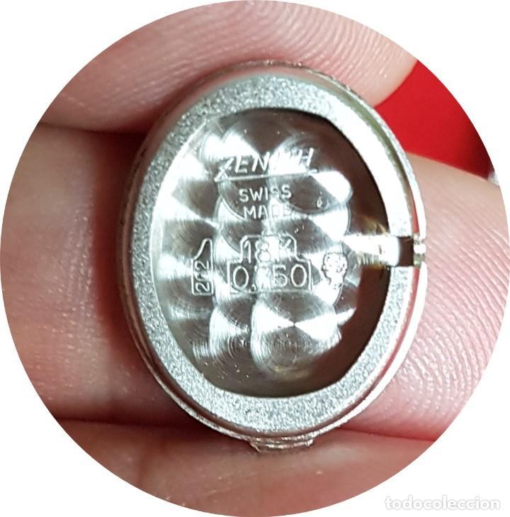 Relojes - Zenith: Antiguo reloj de pulsera para mujer, Zenith, oro y brillantes, joya de los años 50 - Foto 12 - 132570982