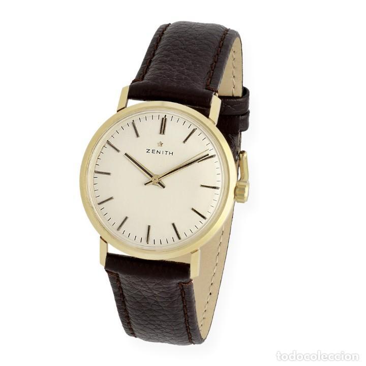 ZENITH MODELO 2532 DE ORO 18K RELOJ PARA CABALLERO (Relojes - Relojes Actuales - Zenith)