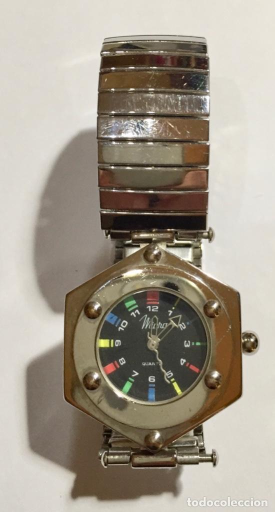 BONITO RELOJ PARA MUJER MARCA MICRO, MAQUINA QUARTZ 34 M/M.-C/C. (Relojes - Relojes Actuales - Zenith)