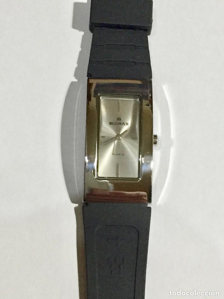 RELOJ BLUMAR , MAQUINA QUARTZ 40X 21 M/M. PULSERA NUEVA. (Relojes - Relojes Actuales - Zenith)