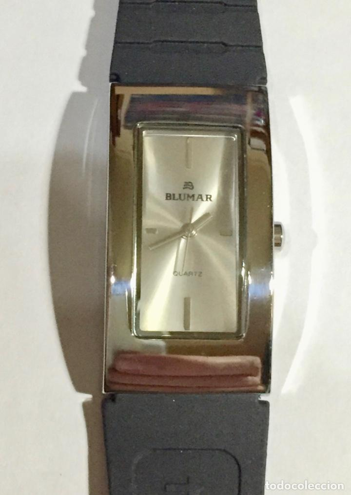 Relojes - Zenith: RELOJ BLUMAR , MAQUINA QUARTZ 40X 21 M/M. PULSERA NUEVA. - Foto 3 - 138793346