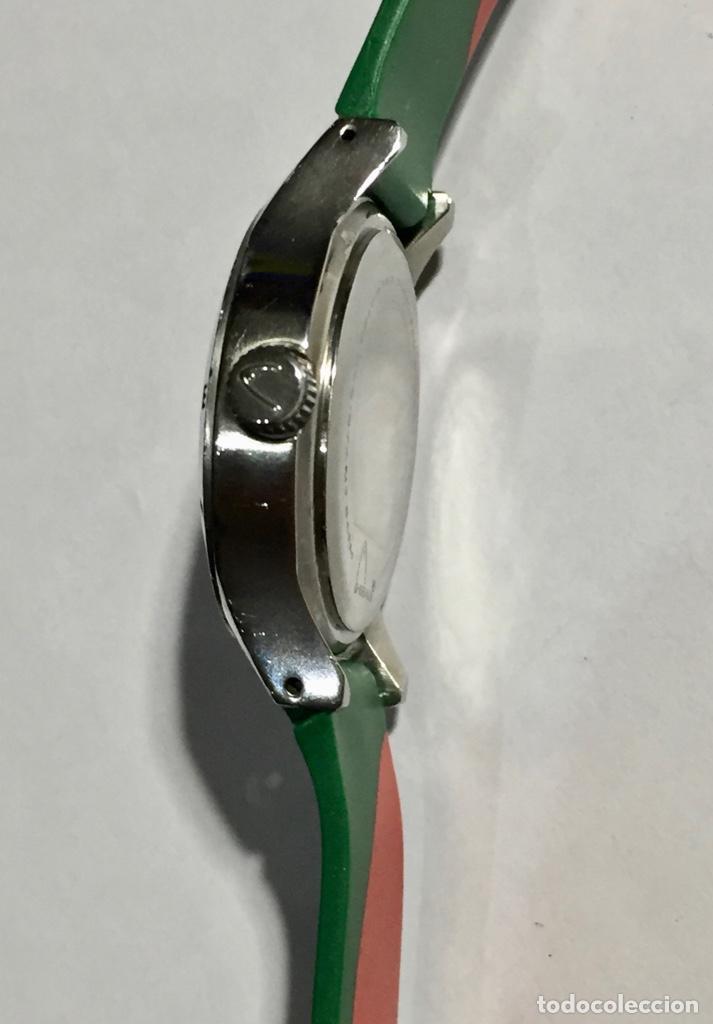 Relojes - Zenith: HEAD (MARCA DEPORTIVA ) CAJA DE ACERO, 34 M/M.Ø MAQUINA MIYOTA QUARTZ. PULSERA NUEVA ( VER FOTOS ) - Foto 3 - 138804578