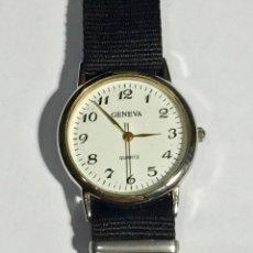 Relojes - Zenith: RELOJ GENEVA QUARTZ 32,4 M/M.Ø CORREA NUEVA.. Lote 138811570