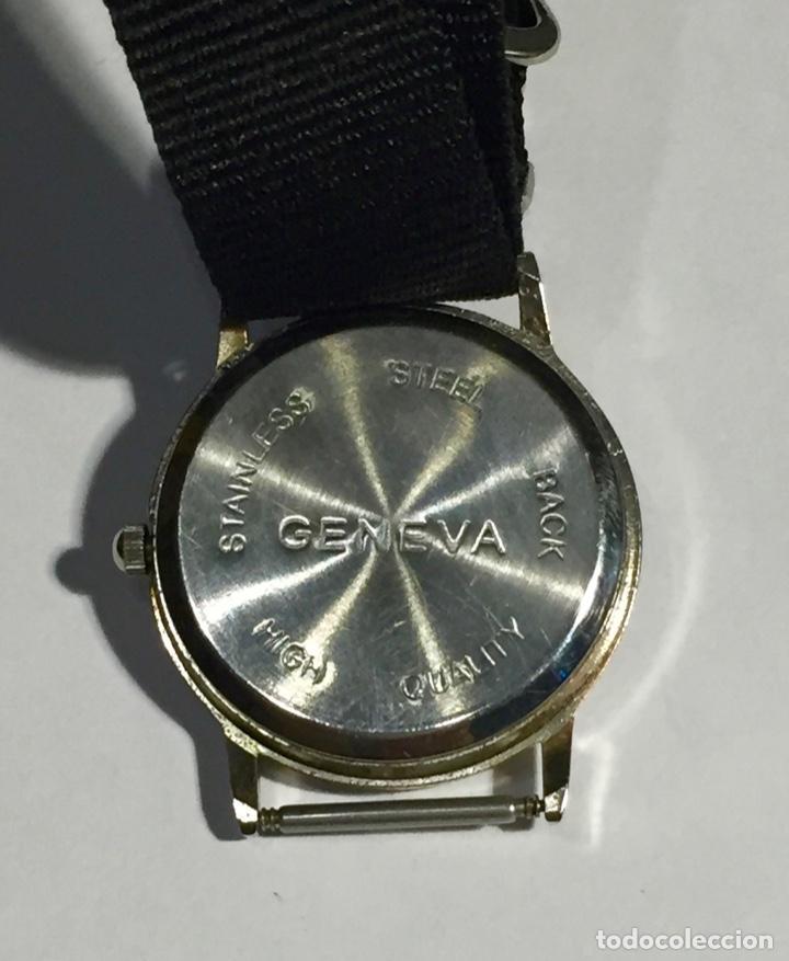 Relojes - Zenith: RELOJ GENEVA QUARTZ 32,4 M/M.Ø CORREA NUEVA. - Foto 5 - 138811570