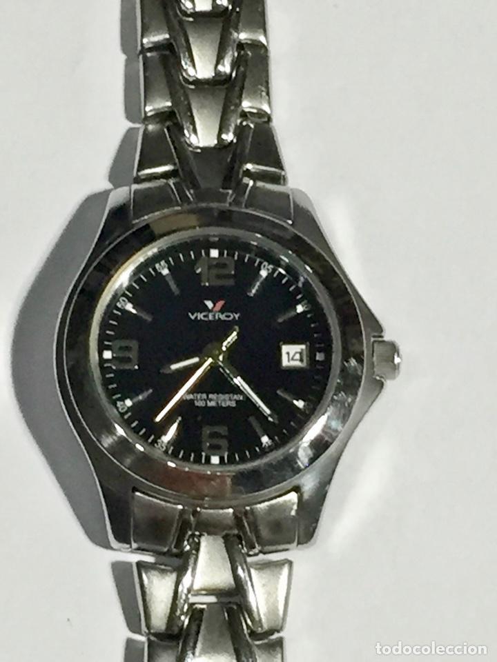 FANTASTICO VICEROY QUARTZ DE MUJER REF.46212, CALENDARIO , TODO DE ACERO BUENO.PULSERA MAX.165 M/M. (Relojes - Relojes Actuales - Zenith)