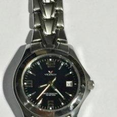 Relojes - Zenith: FANTASTICO VICEROY QUARTZ DE MUJER REF.46212, CALENDARIO , TODO DE ACERO BUENO.PULSERA MAX.165 M/M.. Lote 138815294