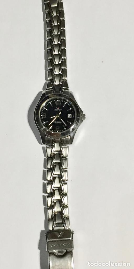 Relojes - Zenith: FANTASTICO VICEROY QUARTZ DE MUJER REF.46212, CALENDARIO , TODO DE ACERO BUENO.PULSERA MAX.165 M/M. - Foto 2 - 138815294