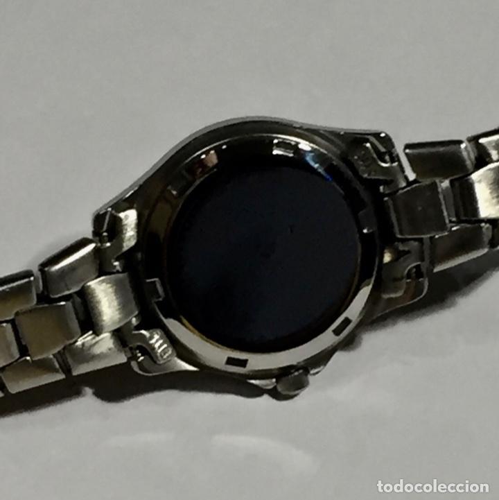 Relojes - Zenith: FANTASTICO VICEROY QUARTZ DE MUJER REF.46212, CALENDARIO , TODO DE ACERO BUENO.PULSERA MAX.165 M/M. - Foto 5 - 138815294