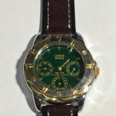Relojes - Zenith: LORUS QUARTZ DE MUJER/CADET,32 M/M./Ø- MULTIFUNCION,MECANISMO SIOJIRI ( EL QUE MONTA SEIKO ). Lote 138818434