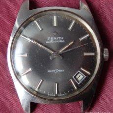 Relojes - Zenith: RELOJ AUTOMATICO ZENITH AUTOSPORT AÑOS 70 FUNCIONANDO. Lote 162537898