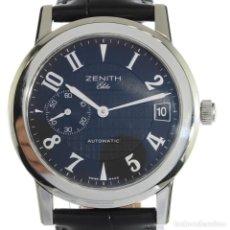 Relojes - Zenith: ZENITH ELITE NEGRO. Lote 168904552
