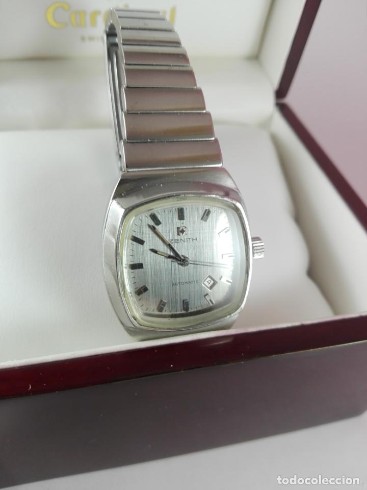Relojes - Zenith: 13/Reloj-Zenith Automatic-Suíza-Señora-Potente-Excelente estado-Pesado-POTENTE-Revisado-Funcionando- - Foto 3 - 173205493