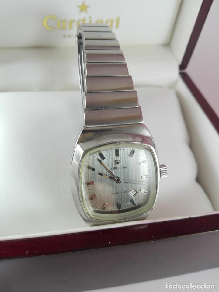 Relojes - Zenith: 13/Reloj-Zenith Automatic-Suíza-Señora-Potente-Excelente estado-Pesado-POTENTE-Revisado-Funcionando- - Foto 5 - 173205493