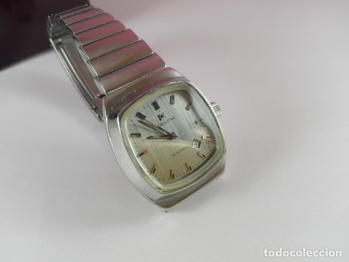 Relojes - Zenith: 13/Reloj-Zenith Automatic-Suíza-Señora-Potente-Excelente estado-Pesado-POTENTE-Revisado-Funcionando- - Foto 9 - 173205493