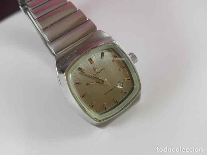 Relojes - Zenith: 13/Reloj-Zenith Automatic-Suíza-Señora-Potente-Excelente estado-Pesado-POTENTE-Revisado-Funcionando- - Foto 10 - 173205493