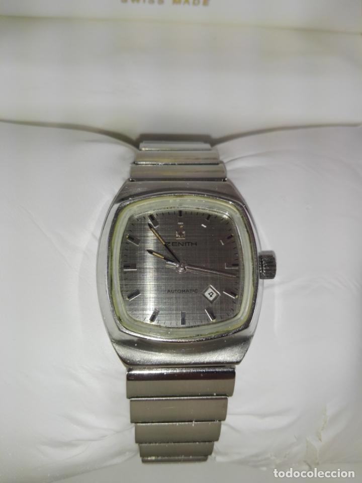 Relojes - Zenith: 13/Reloj-Zenith Automatic-Suíza-Señora-Potente-Excelente estado-Pesado-POTENTE-Revisado-Funcionando- - Foto 11 - 173205493