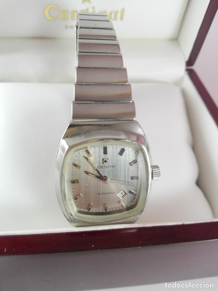 13/RELOJ-ZENITH AUTOMATIC-SUÍZA-SEÑORA-POTENTE-EXCELENTE ESTADO-PESADO-POTENTE-REVISADO-FUNCIONANDO- (Relojes - Relojes Actuales - Zenith)