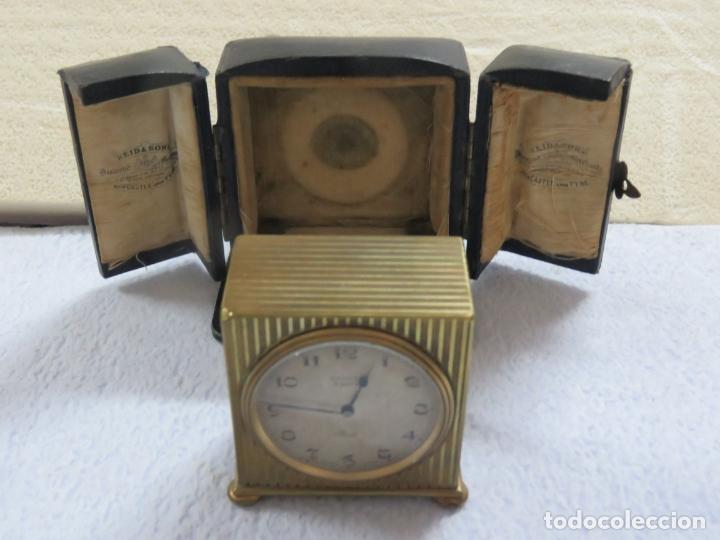 Relojes - Zenith: PRECIOSO RELOJ DE VIAJE DE LA MARCA ZENITH DE 8 DIAS EN SU CAJA ORIGINAL Y FUNCIONA PERFECTO, 1920 - Foto 2 - 174929793